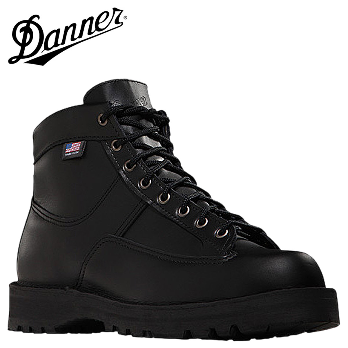 danner shoes men black