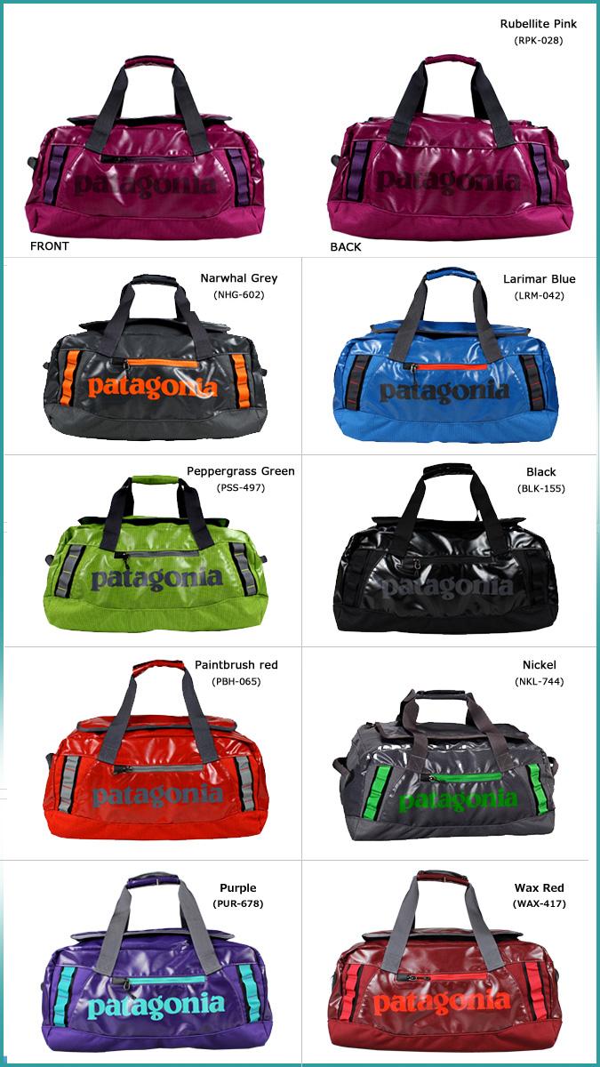 Patagonia Duffle Bag 9 Color 49335 Black Hole Duffel 45l Polyester Men S Women New Uni Regular 05p11jan14