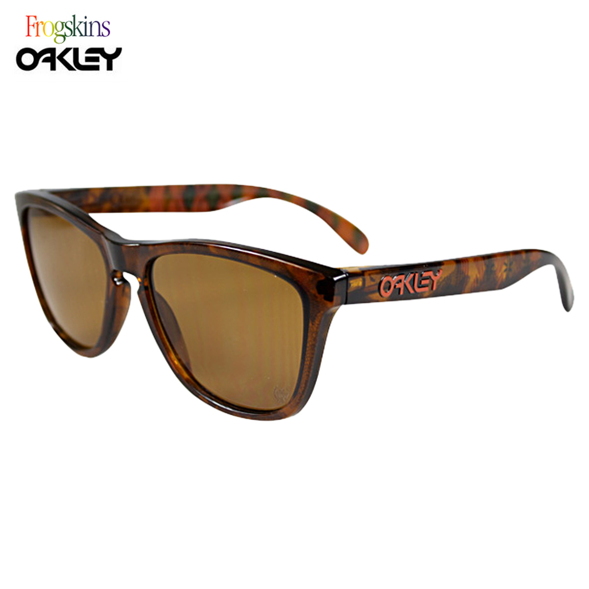 2527213de4  SOLD OUT  Oakley Oakley Sunglasses Frogskins frog skin mens Womens glasses  24-336 KAZ Braun × tortoiseshell x bronze KAZU KOKUBO SIGNATURE SERIES  unisex ...