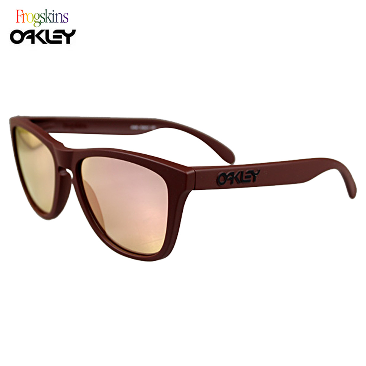 dc20141207 24-342 Sunglasses Oakley Oakley FROGSKINS SUMMIT COLLECTION frog skin men  women