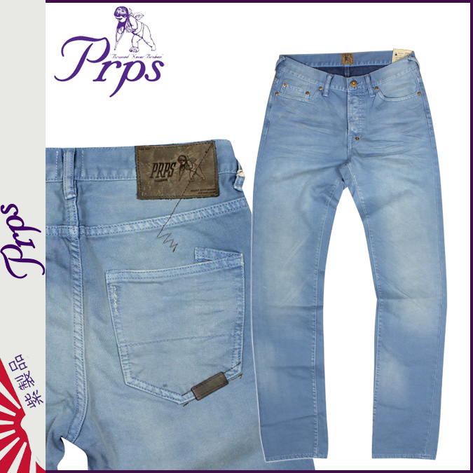 ピーアールピーエス PRPS vintage denim E63P90EV RAMBLER SKINNY FIT cotton men's 2013 new