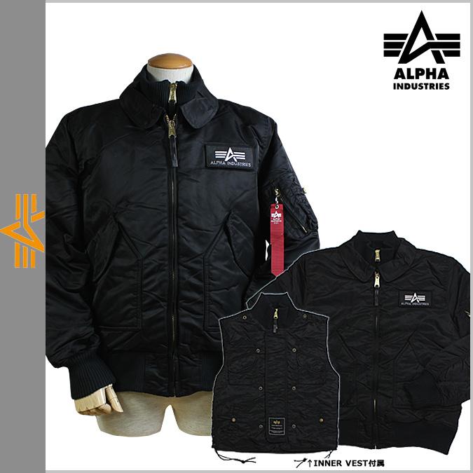 指出 2 x 男装阿尔法工业 ALPHA 飞行夹克 [黑色] MJX42010C1 x 力跳线