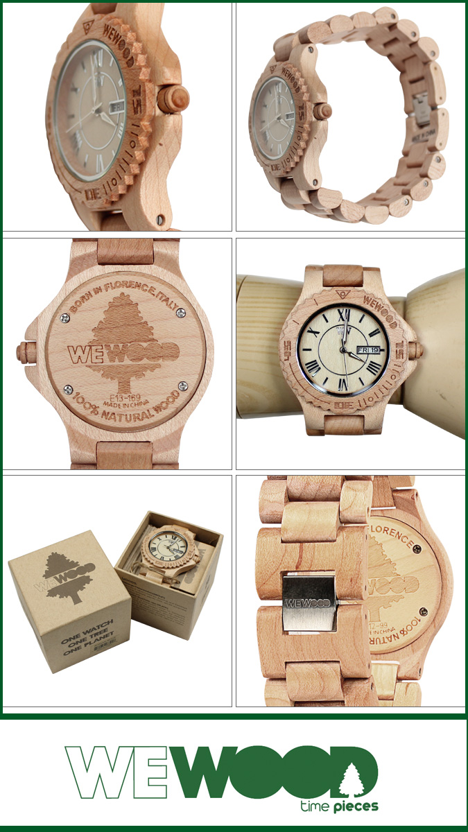 Point 2 x ウィーウッド WEWOOD watch [beige] ROMAN mens Womens unisex [regular] 02P13Jun14