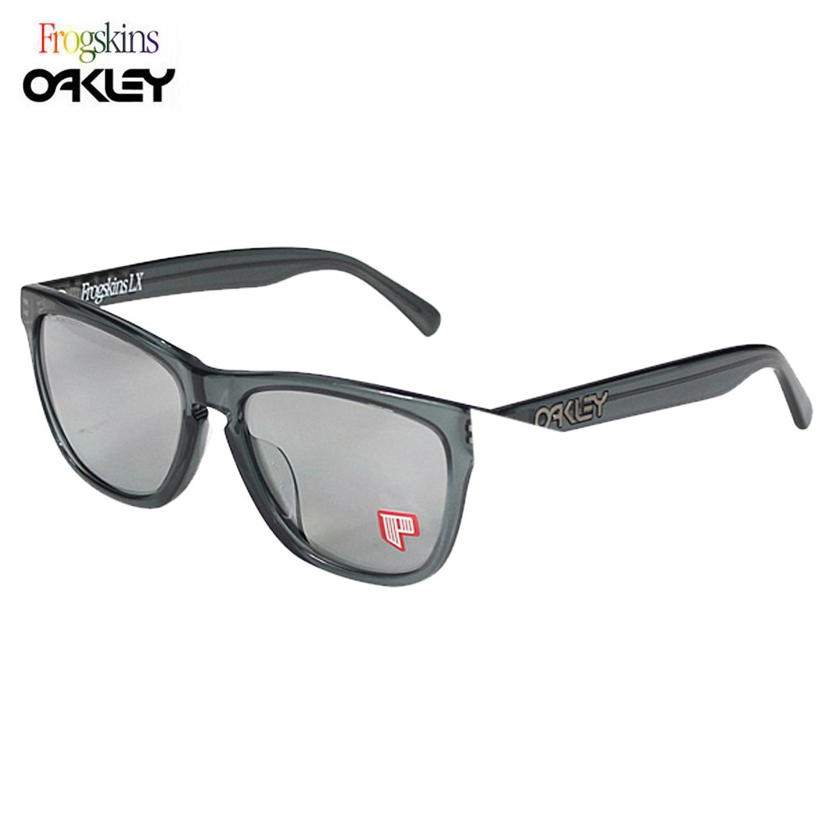 bad65632dc Oakley Oakley Sunglasses Polarized Frogskins LX polarized frog skin mens  Womens polarized lens glasses Asian fit OO2039-04 unisex  regular