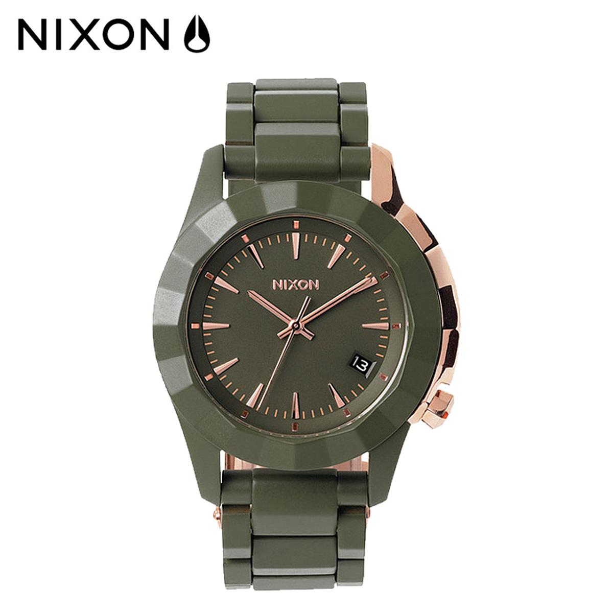 【最大2000円OFFクーポン】 ニクソン NIXON 腕時計 38mm ウォッチ 時計 A288 オールサープラス ローズゴールド MONARCH メンズ レディース