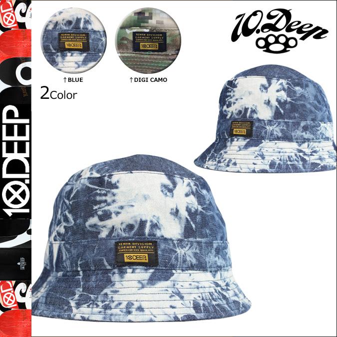 10DEEP十深的帽子吊桶帽子人[S50]