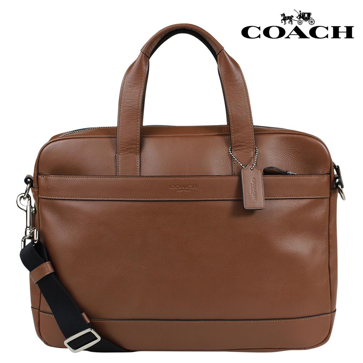 【最大2000円OFFクーポン】 コーチ COACH メンズ バッグ ビジネスバッグ ブリーフケース F54801 ブラウン