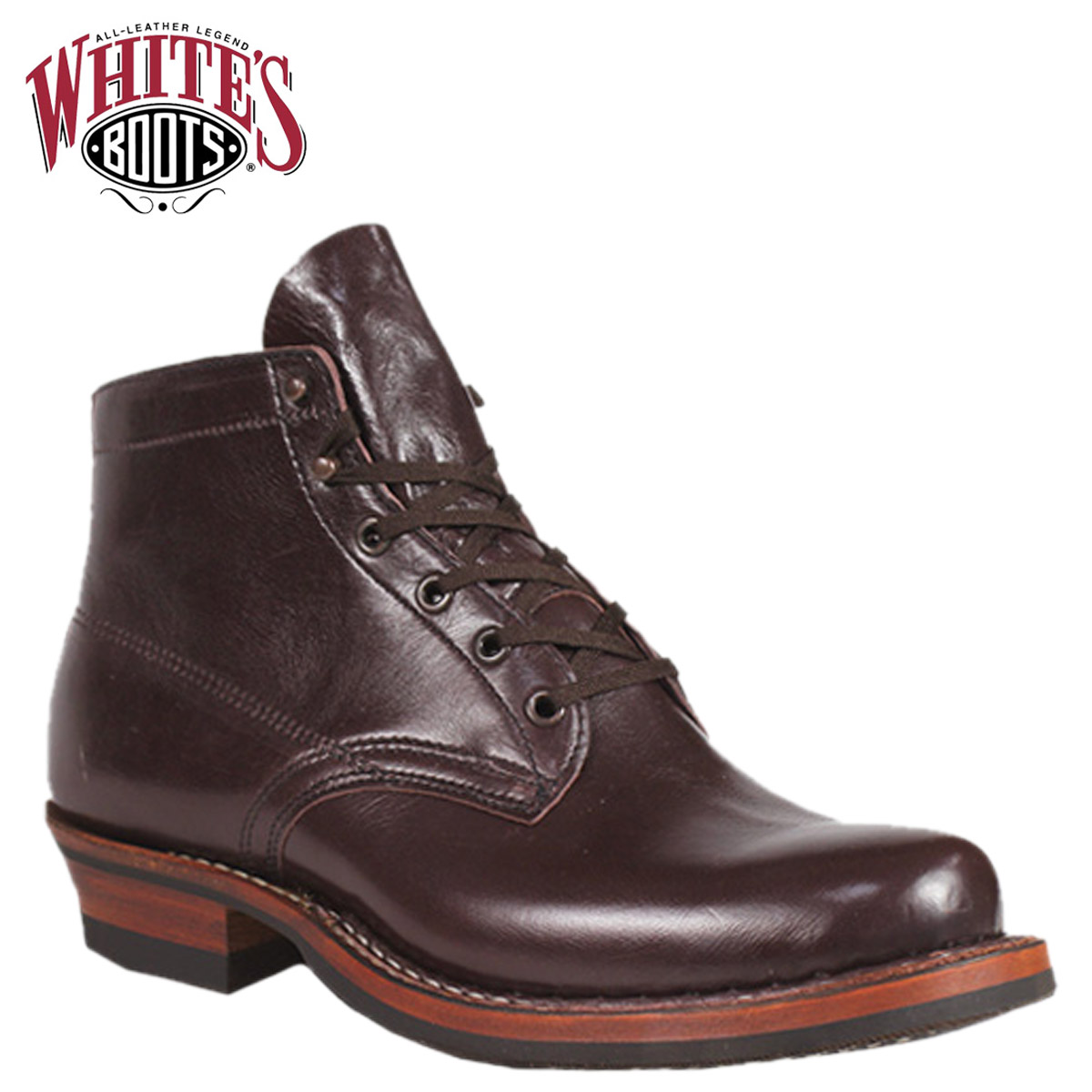 «Booking products» «11 / 7 days stock» whites boots WHITE's BOOTS 5 inch Americana semi boots 2332 W 5inch AMERICANA SEMIDRESS BOOTS E wise BLACK CHERRY WATER BUFFALO mens