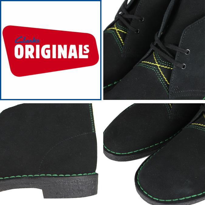 Jamaican black SOLD OUT Clarks originals Clarks ORIGINALS desert boots 78353 Desert Boot SUEDE JAMAICAN BLACK [genuine]