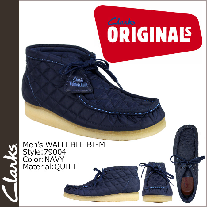 Clarks originals Clarks ORIGINALS boots Wallaby 79004 WALLEABEE BT-M fabric
