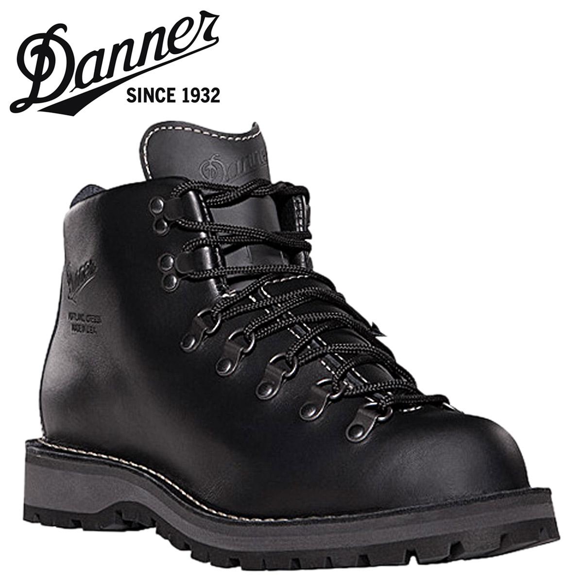 【最大2000円OFFクーポン】 ダナー Danner マウンテンライト ブーツ Danner2 30860 ブラック Mountain Light II Dワイズ EEワイズ レザー GORE-TEX メンズ [3/3 再入荷]