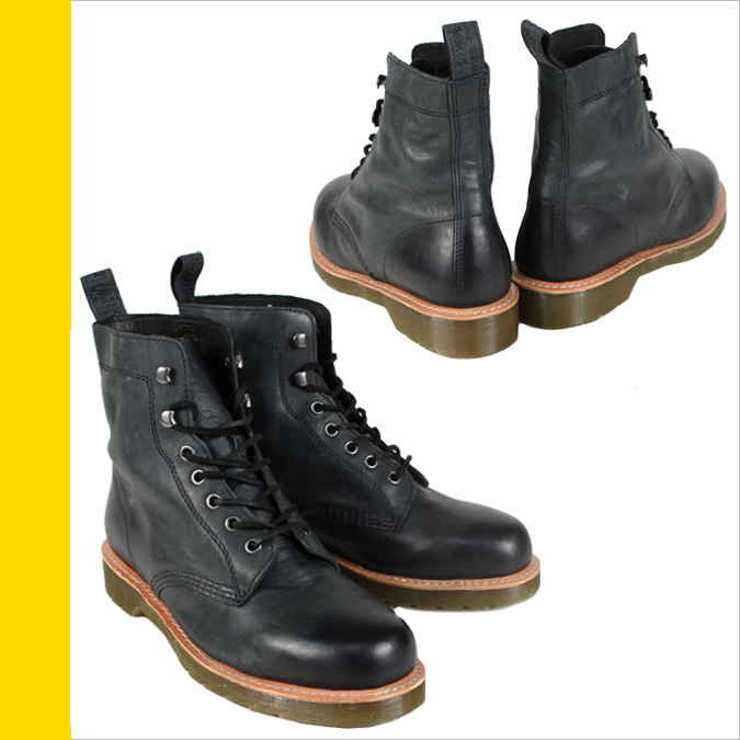 Dr. Martens Dr.Martens 7 holes boots R14350001 WINTON mens Womens BLACK