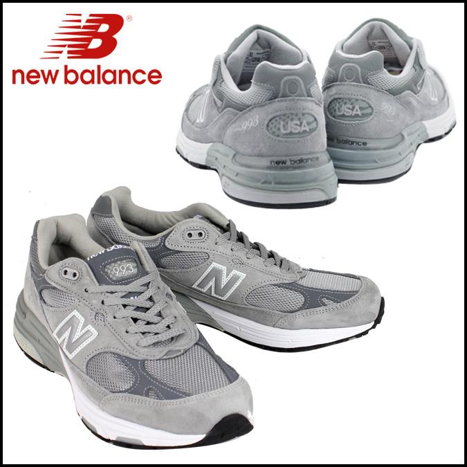 [卖出] 新平衡新平衡运动鞋 [Gray] MR993GL D y 麂皮绒制造在英国灰色麂皮绒限量版