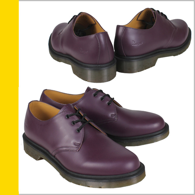Dr. Martens Dr.Martens MIE 1461 3 Hall shoes R13762510 MIE Made in England leather mens Womens 3 EYE SHOE