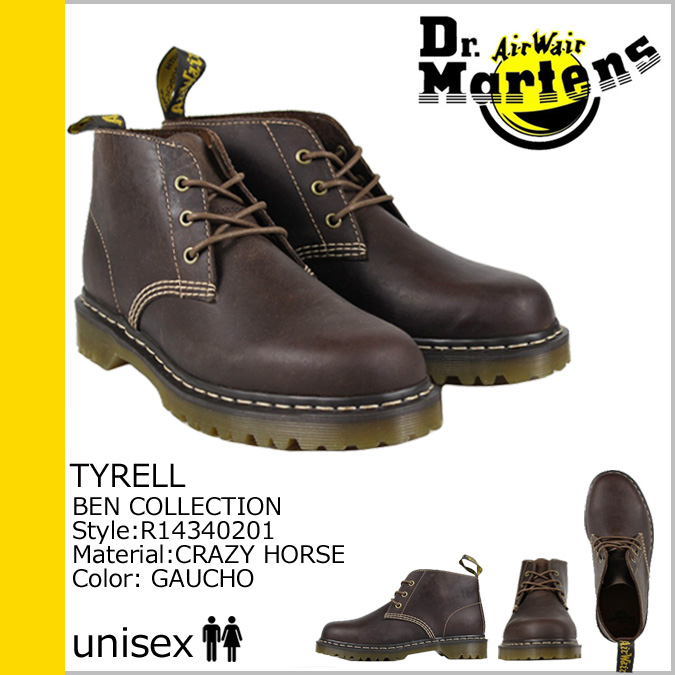 [SOLD OUT] Dr. Martens Dr.Martens 3 hole desert boots [Gaucho] R14340201 TYRELL 3EYE DESERT BOOT leather men women