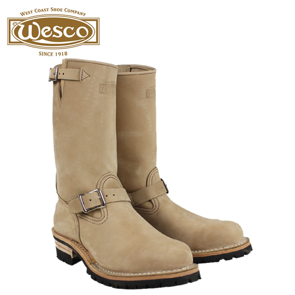 【最大2000円OFFクーポン】 ウエスコ ジョブマスター WESCO ブーツ 11インチ エンジニア 11INCH THE BOSS STEEL TOE Eワイズ レザー バーラップ BE7700100 ウェスコ メンズ