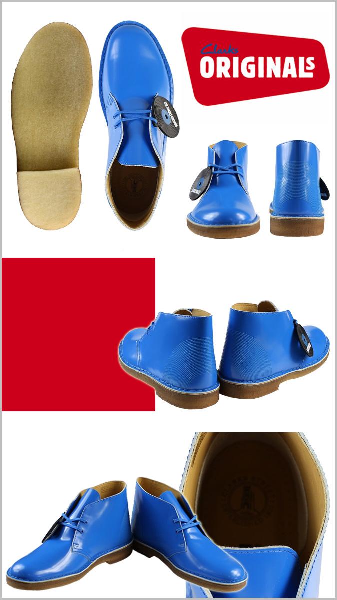 Clarks originals Clarks ORIGINALS desert boots [cobalt] 63712 Desert Boots leather men's [regular]