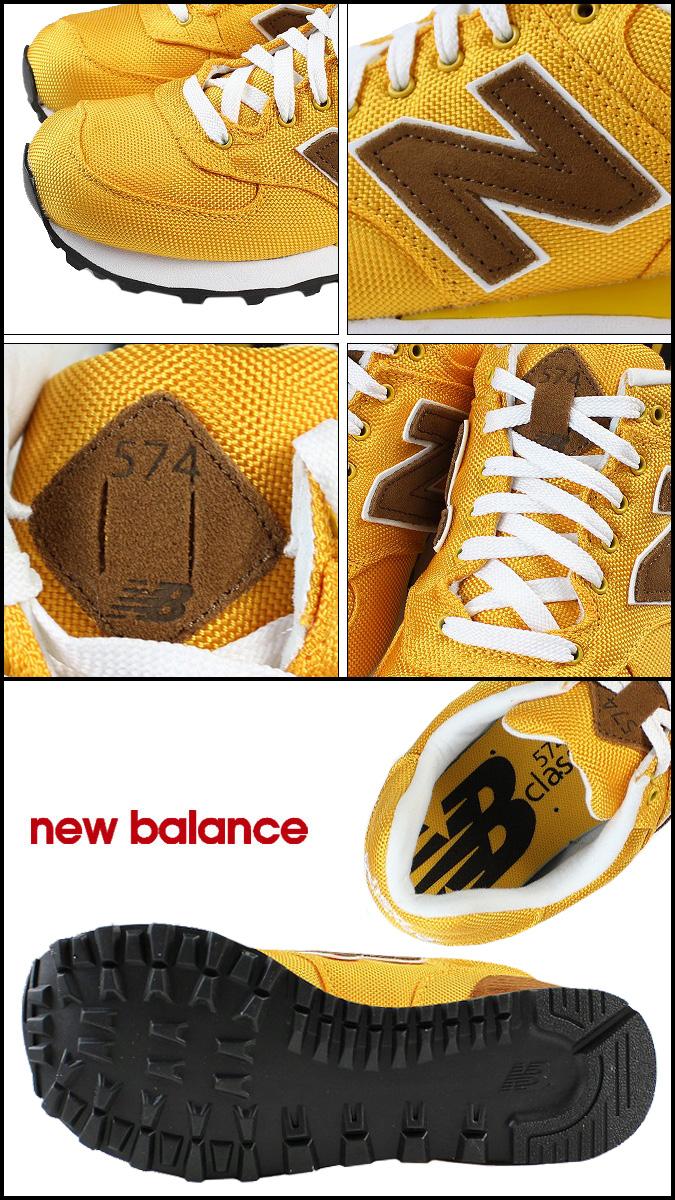 New balance new balance WL574BPY Womens mens sneakers B wise canvas