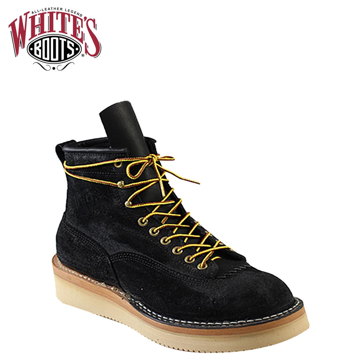 点双白人靴子白色的靴子 6 寸西北 [黑色] 6 寸 6 寸北西黑粗出 E 明智黑色 ROUGHOUT 男装 350NWCROLTT06 白人西北靴