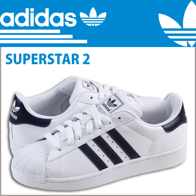 adidas originals superstar 2 men white
