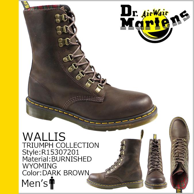 博士马滕斯 Dr.Martens 8 孔靴 R15307201 沃利斯皮革男装