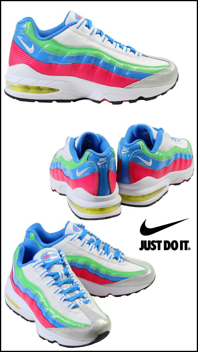 ... running shoes; nike nike womens kids air max 95 gs 310830 105 sneakers  air max 95 girls ...