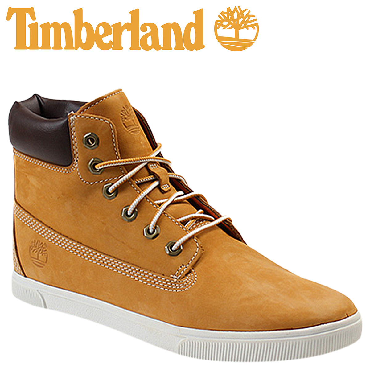 Timberland Timberland kids Lady's youth 6 inches race up cup sole boots 7692R JUNIOR 6 INCH LACE UP CUPSOLE BOOT nubuck men