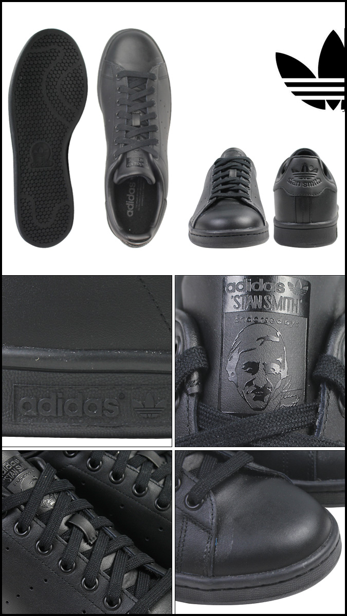Adidas originals adidas Originals STAN SMITH sneakers Stan Smith leather men black M20327 [3/29 Shinnyu load] [regular]