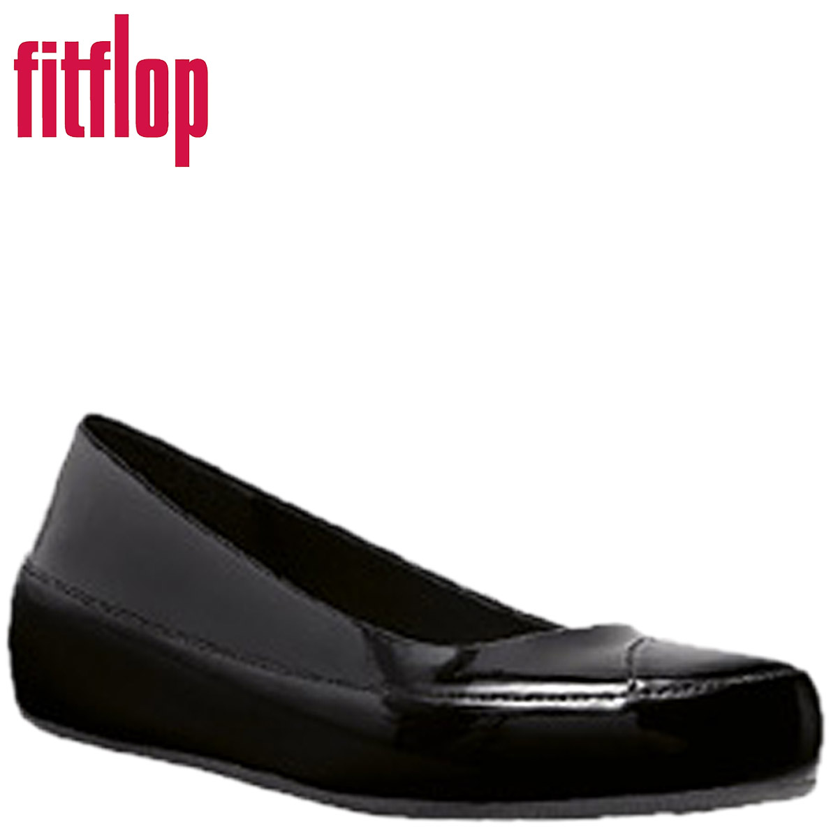 b6102f23bf402 SneaK Online Shop  All black fit flops FitFlop women s DUE PATENT ...