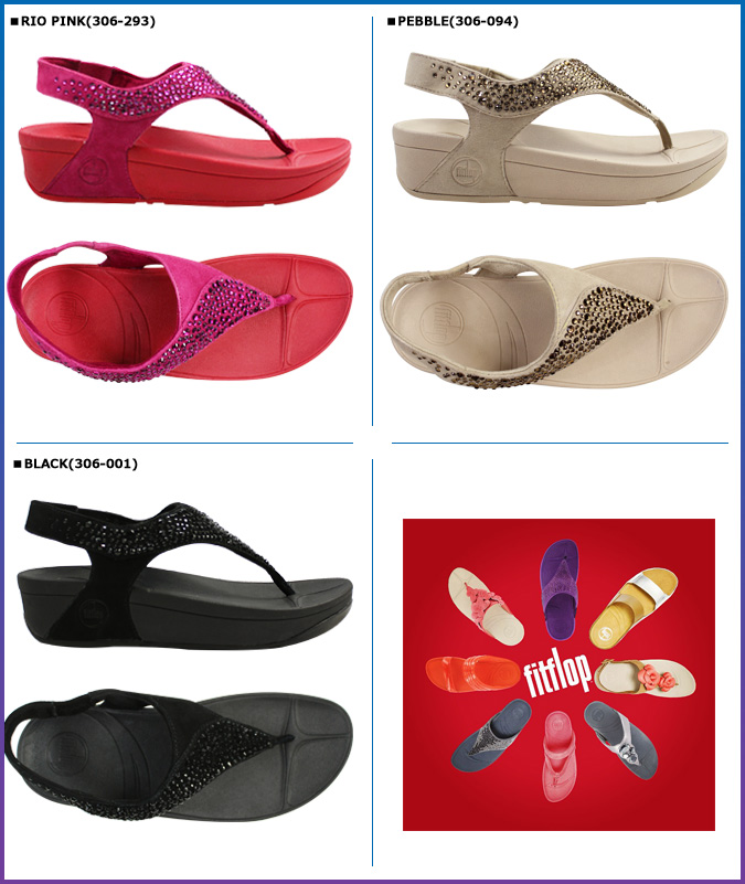 [SOLD OUT]合身FLOP FitFlop SUISEI suiseisandaru 3彩色微纤维SANDAL 306女士
