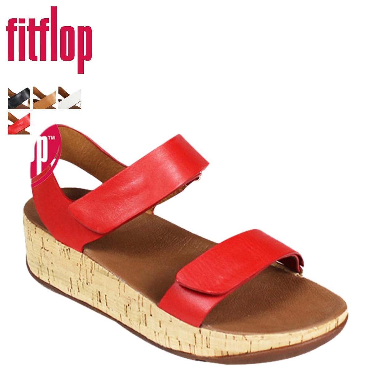 [SOLD OUT]合身FLOP FitFlop BON EASY波恩E G凉鞋4彩色皮革SANDAL 363女士