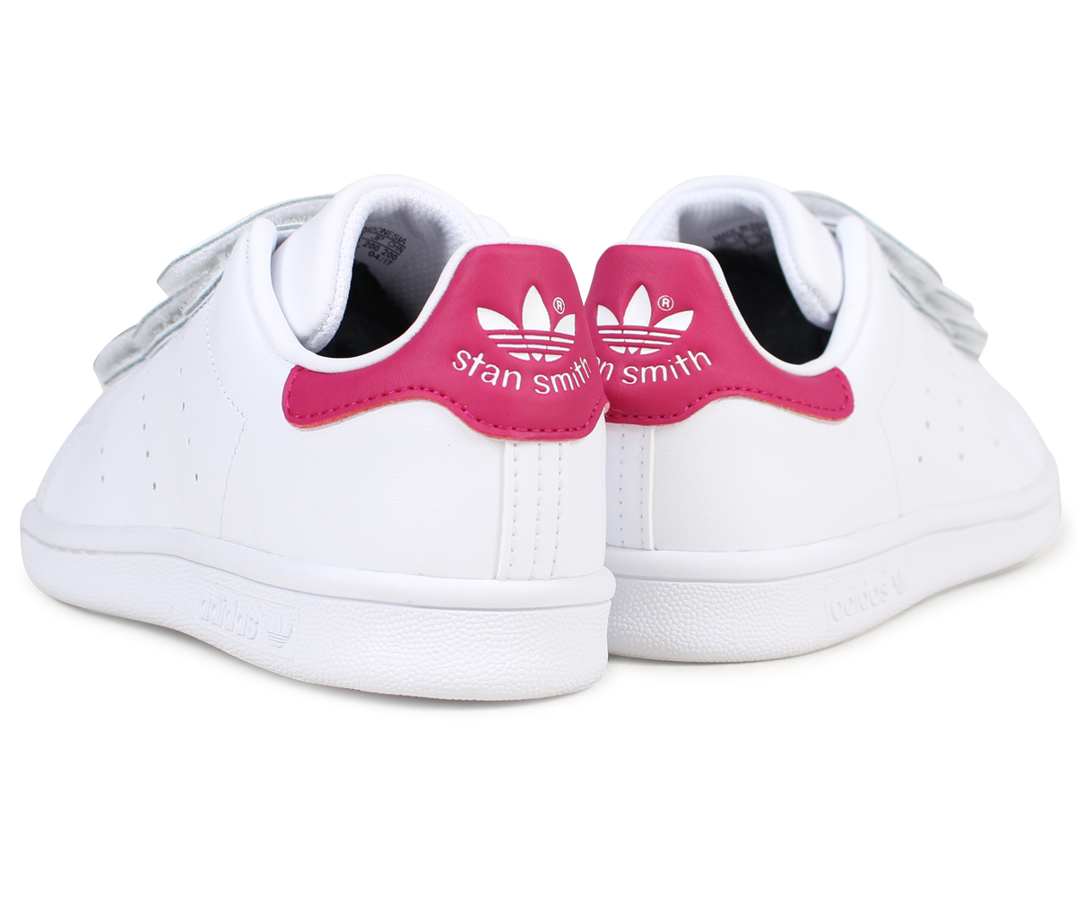 Adidas originals adidas Originals Stan Smith sneakers kids STAN SMITH CF C  B32706 shoes white