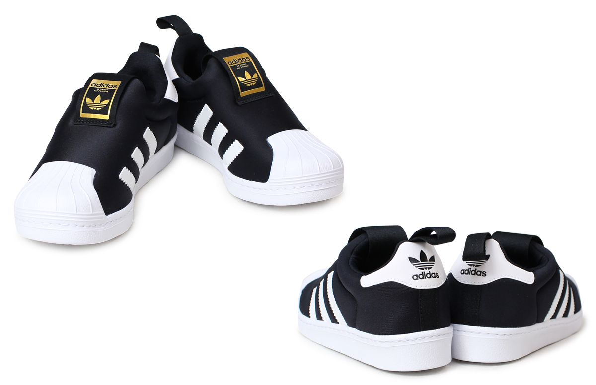 [up to 2,000 yen OFF coupon] Adidas superstar kids sneakers adidas originals SUPERSTAR 360