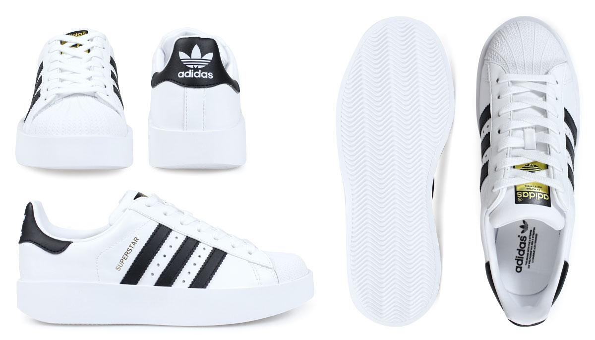 Adidas superstar Lady\u0027s sneakers adidas originals SUPERSTAR BD W BA7666  BA7667 shoes white black originals [