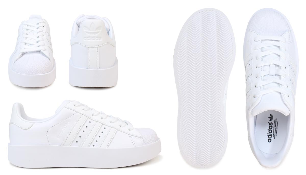 Adidas superstar Lady's adidas originals sneakers SUPERSTAR BD W BA7668 BA7671 shoes originals [3/11 Shinnyu load]