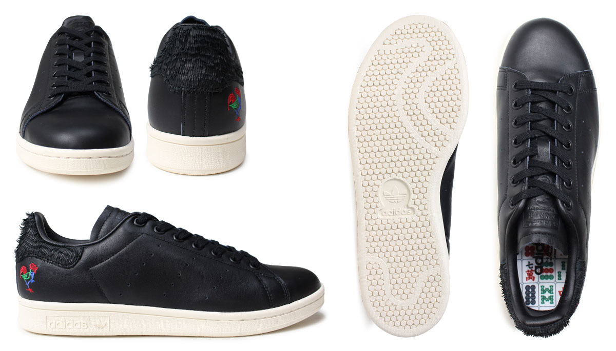 Adidas Stan Smith men sneakers adidas originals STAN SMITH CNY BA7779 shoes  black [12/
