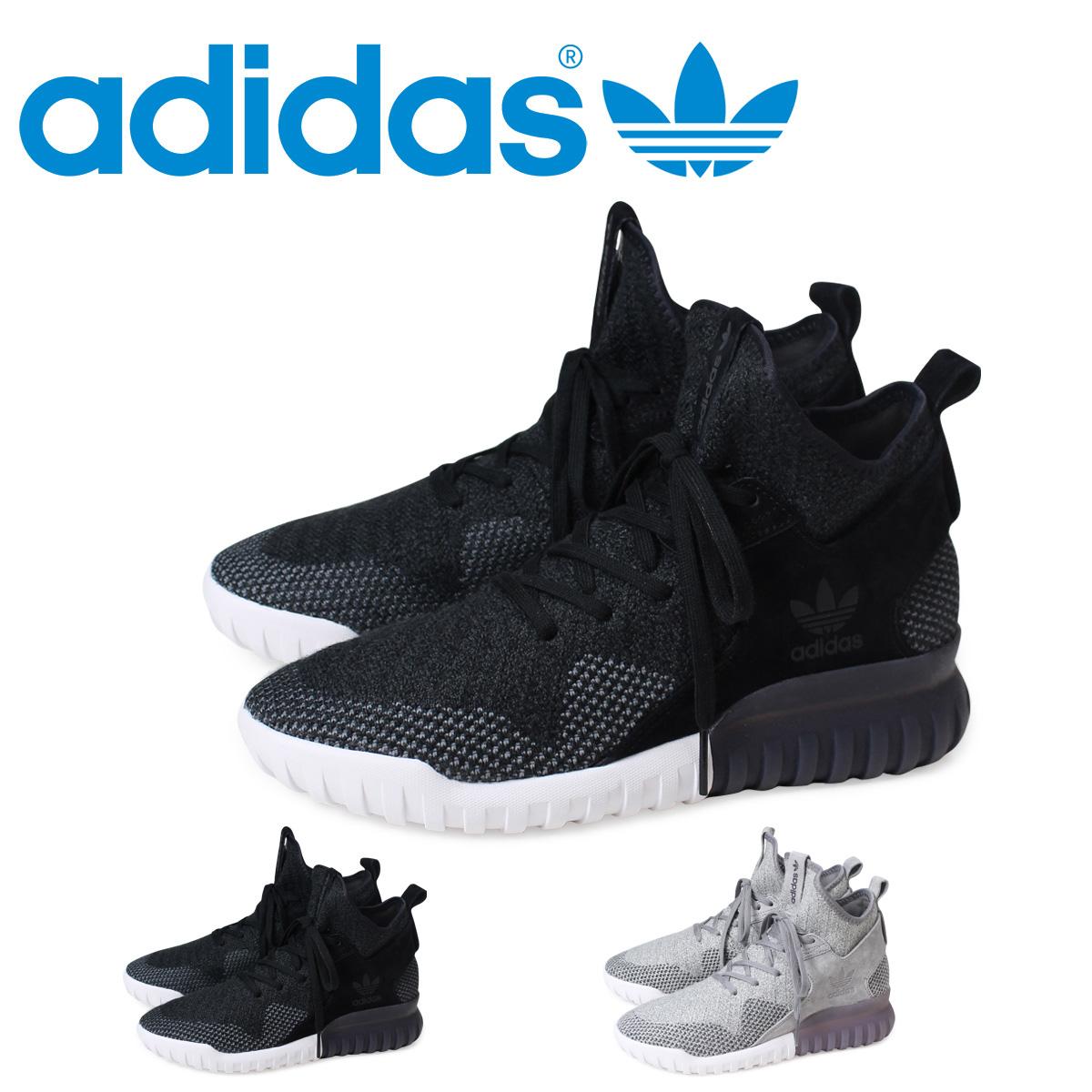アディダスオリジナルスチューブラー adidas Originals スニーカーチュブラー TUBULAR men X PK LIMITED EDITION BB2379 BB2380 black gray