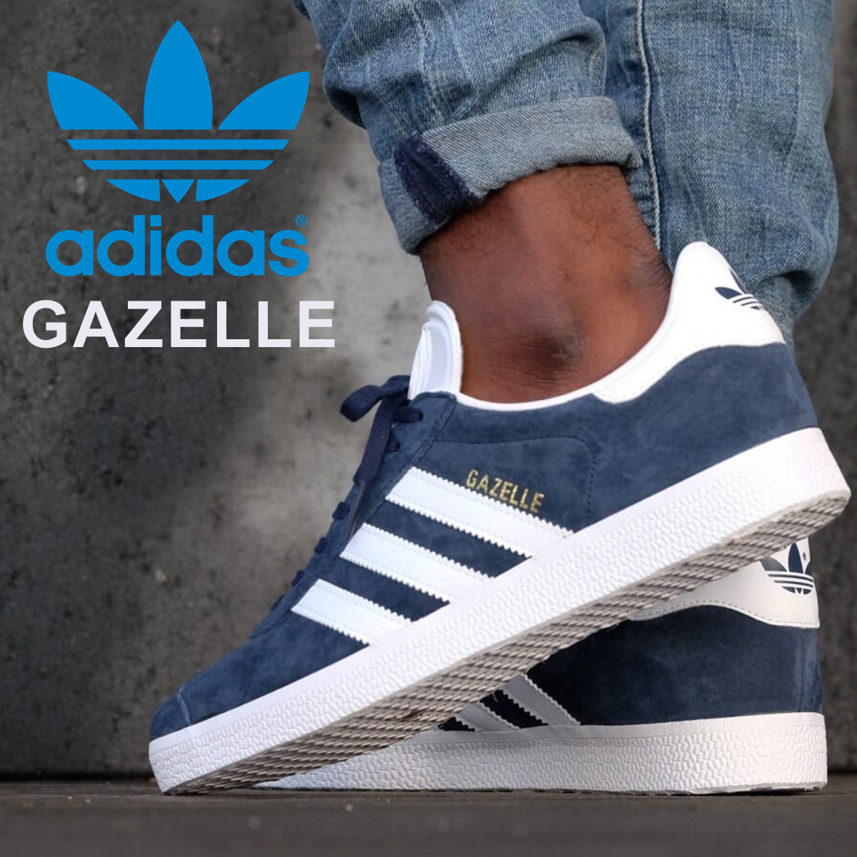 52d969cf33d6 Adidas originals gazelle adidas Originals スニーカーガッツレー GAZELLE men gap Dis  BB5478 navy  load planned Shinnyu load in reservation product 6 26 ...
