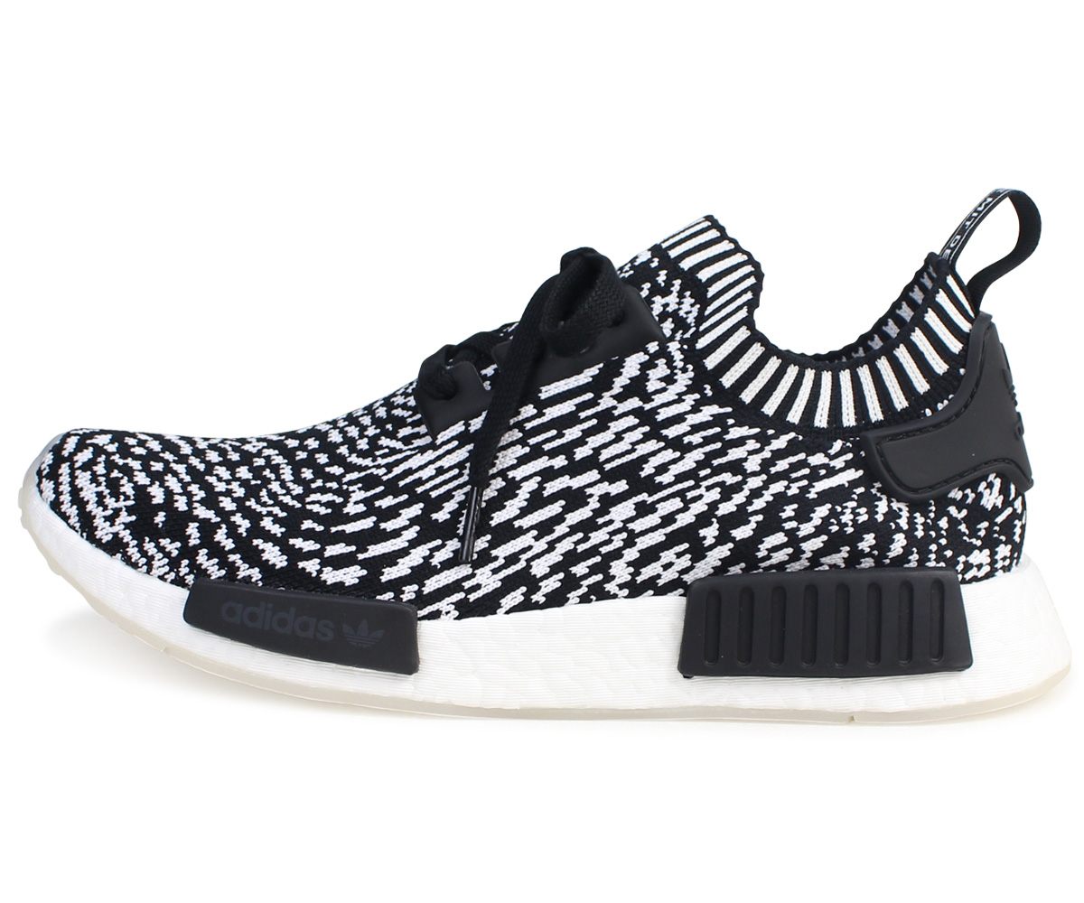 best service 2351a 15e17 Adidas originals adidas Originals NMD R1 PK sneakers nomad men BY3013 ZEBRA  PACK black