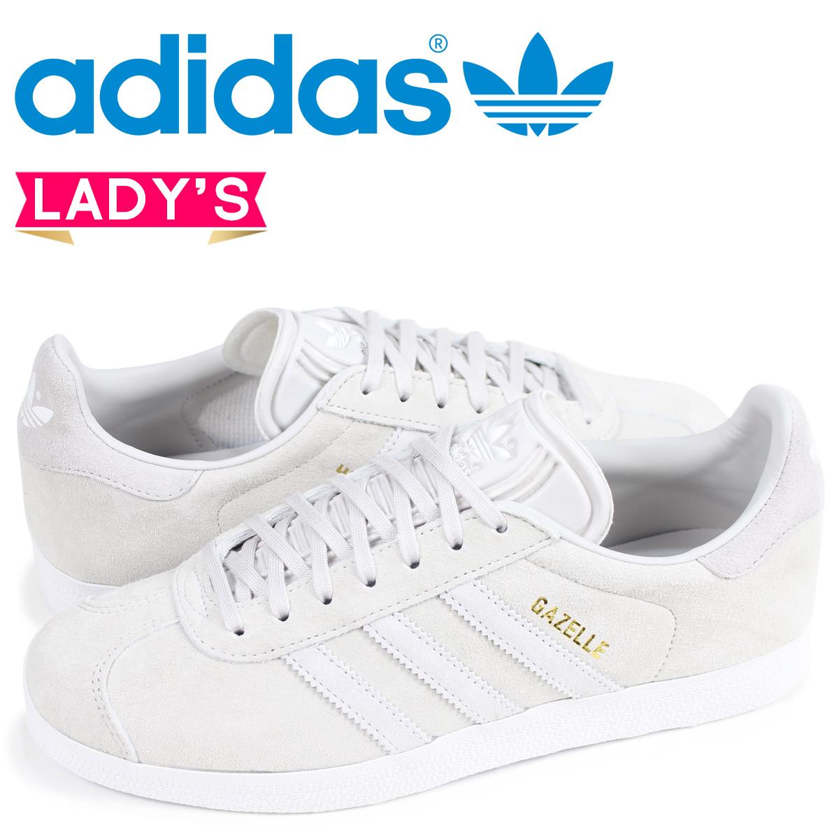 b2f2f052003489 Adidas gazelle adidas Originals レディーススニーカーガッツレー GAZELLE W CQ2188 gray  originals  load planned Shinnyu load in reservation product 4 10 ...