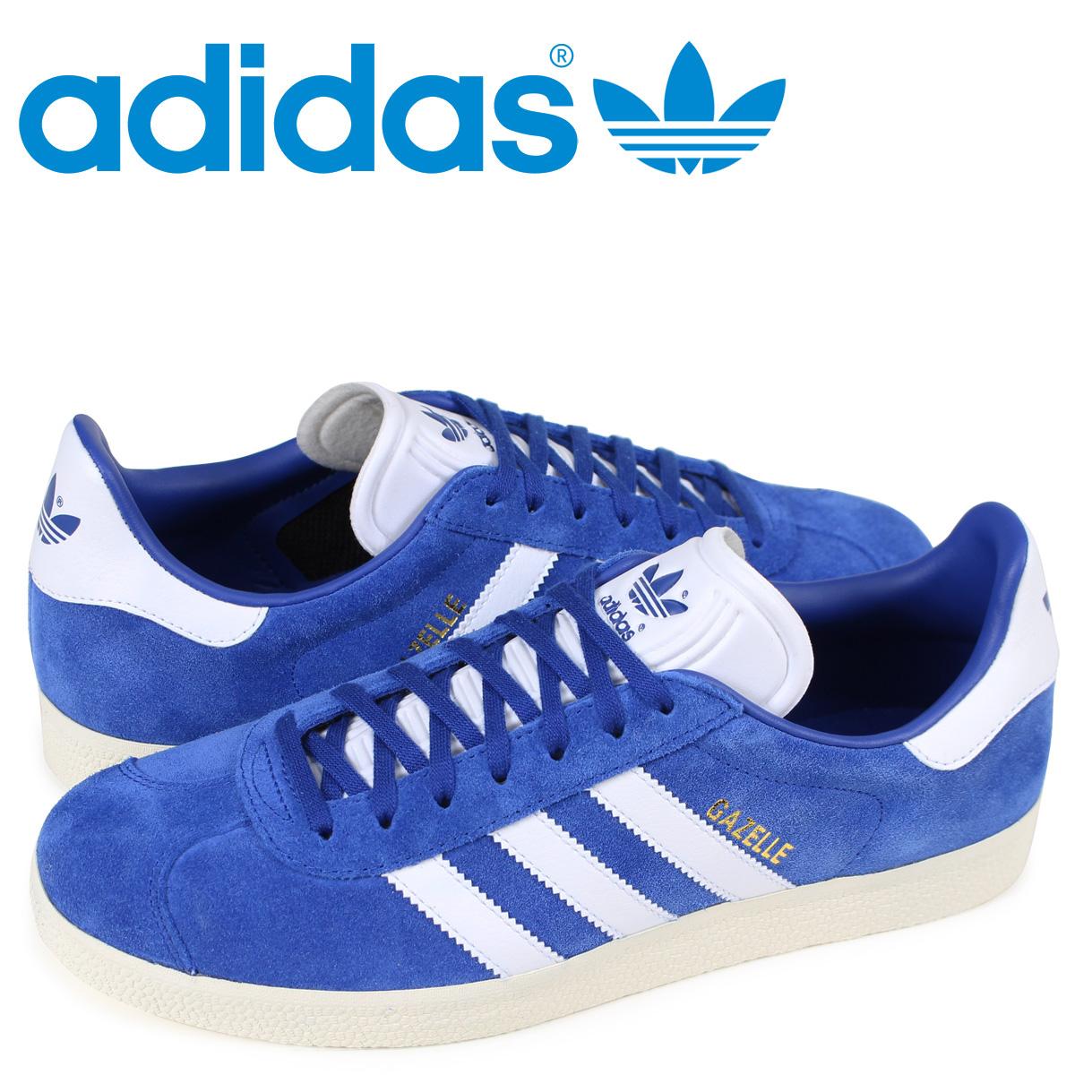 adidas gazelles mens blue