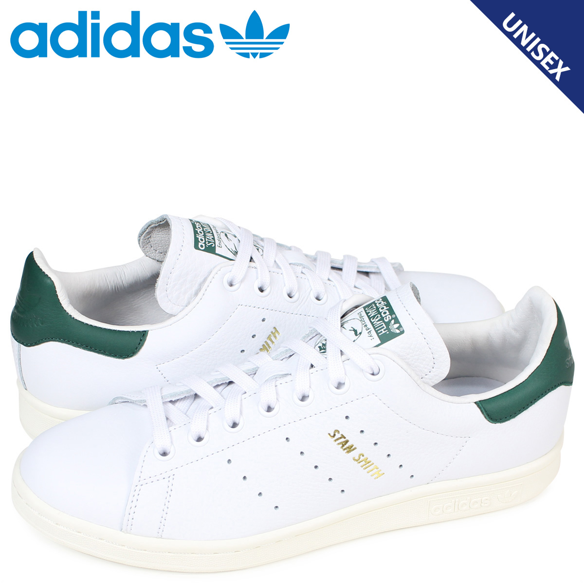 SneaK Online Shop | Rakuten Global Market: Adidas Stan Smith adidas originals sneakers STAN SMITH men CQ2871 shoes white [load planned Shinnyu load in reservation product 12/26 containing]