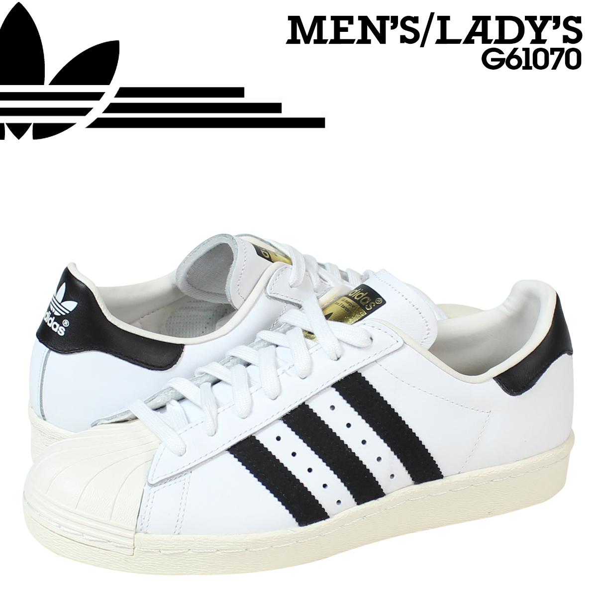 SneaK Online Shop | Rakuten Global Market: Adidas originals adidas Originals superstar sneakers SUPERSTAR 80 s G61070 men's women's shoes white [8/5 Add in stock]