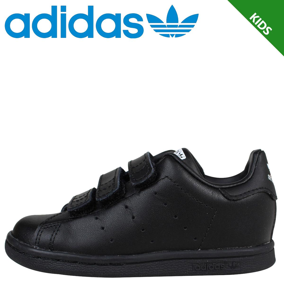 adidas stan smith kids black