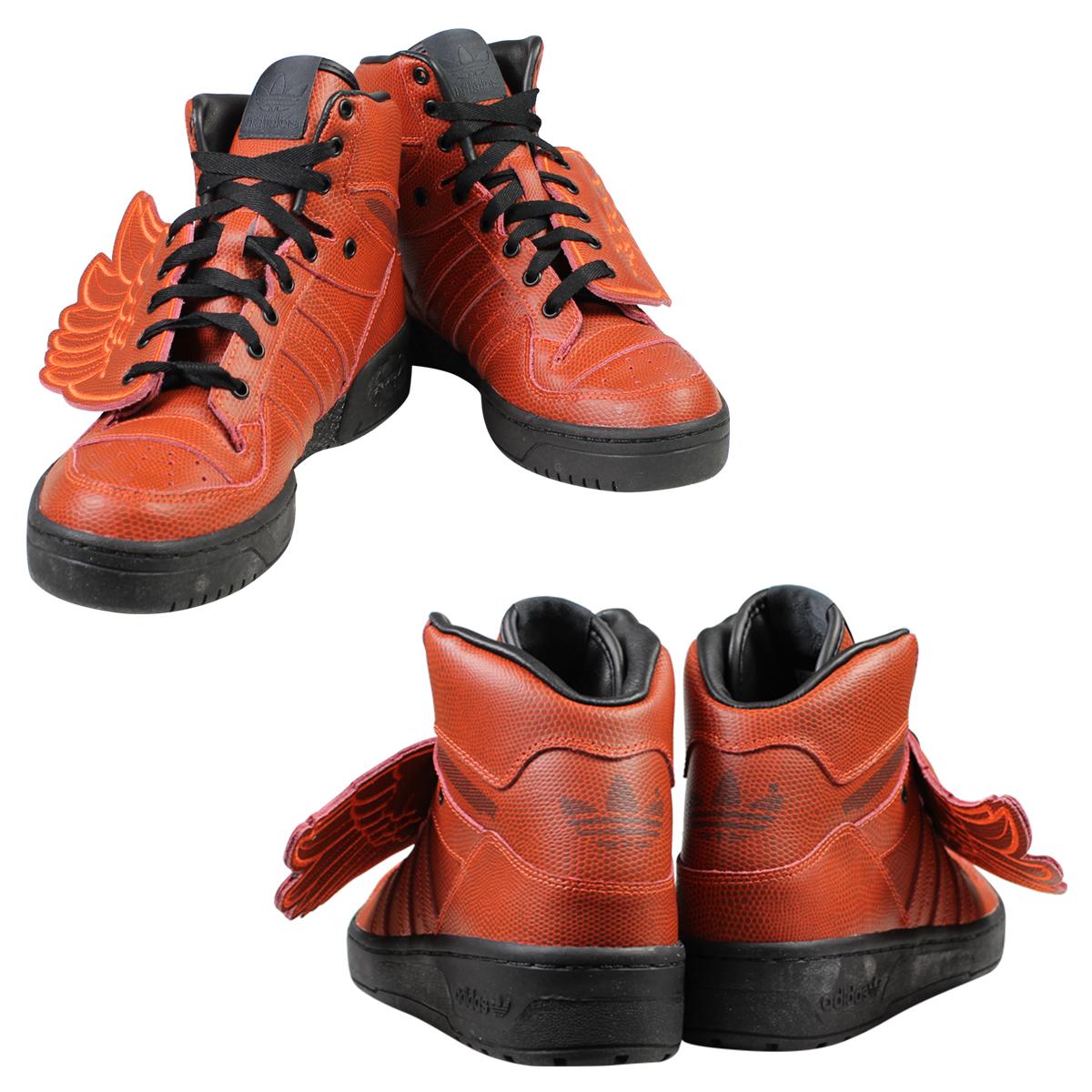 Adidas originals adidas Originals JEREMY SCOTT men s women s BBALL JS WINGS  sneakers Jeremy Scott wings basketball S77803 Red 84b7095d2c