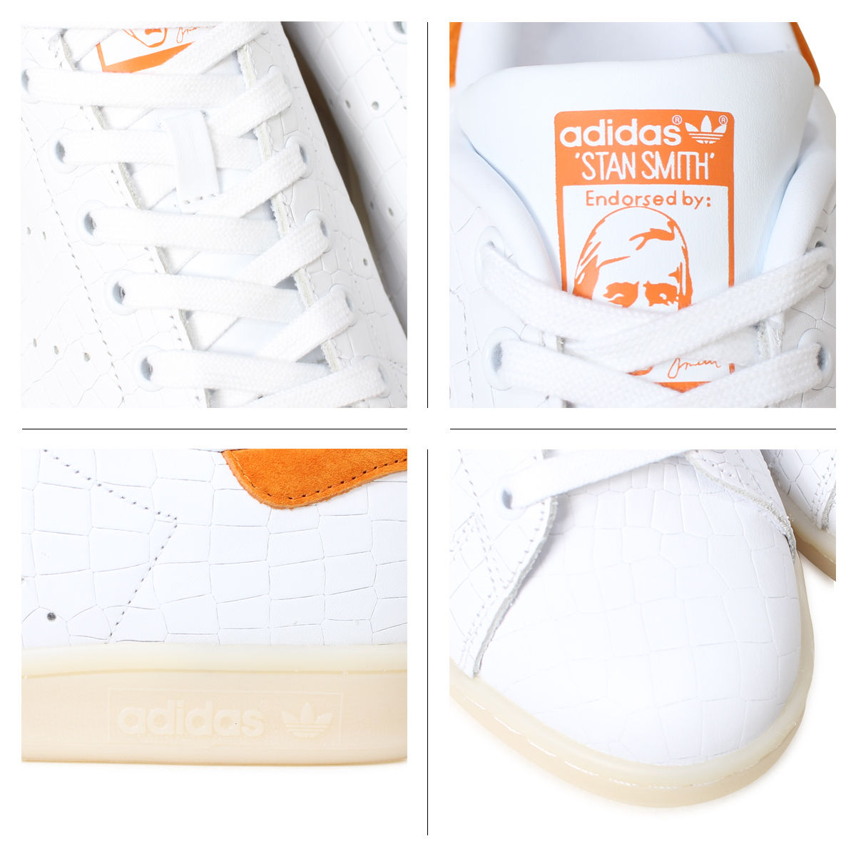阿迪达斯Stan Smith adidas Originals运动鞋STAN SMITH人S82254鞋白[2/14新进货]
