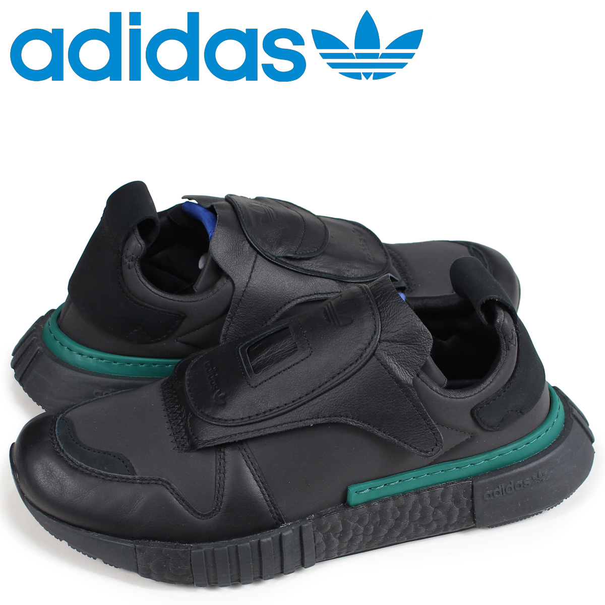 アディダス オリジナルス adidas Originals フューチャーペーサー スニーカー FUTURPACER メンズ B37266 ブラック