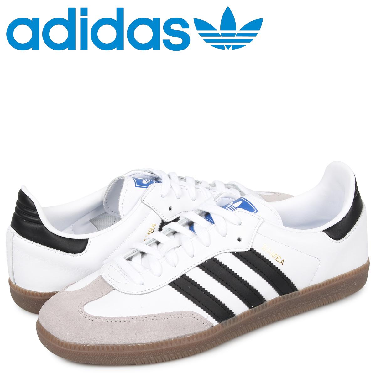 アディダス オリジナルス adidas Originals サンバ スニーカー メンズ SAMBA OG ホワイト 白 B75806 [7/31 追加入荷]