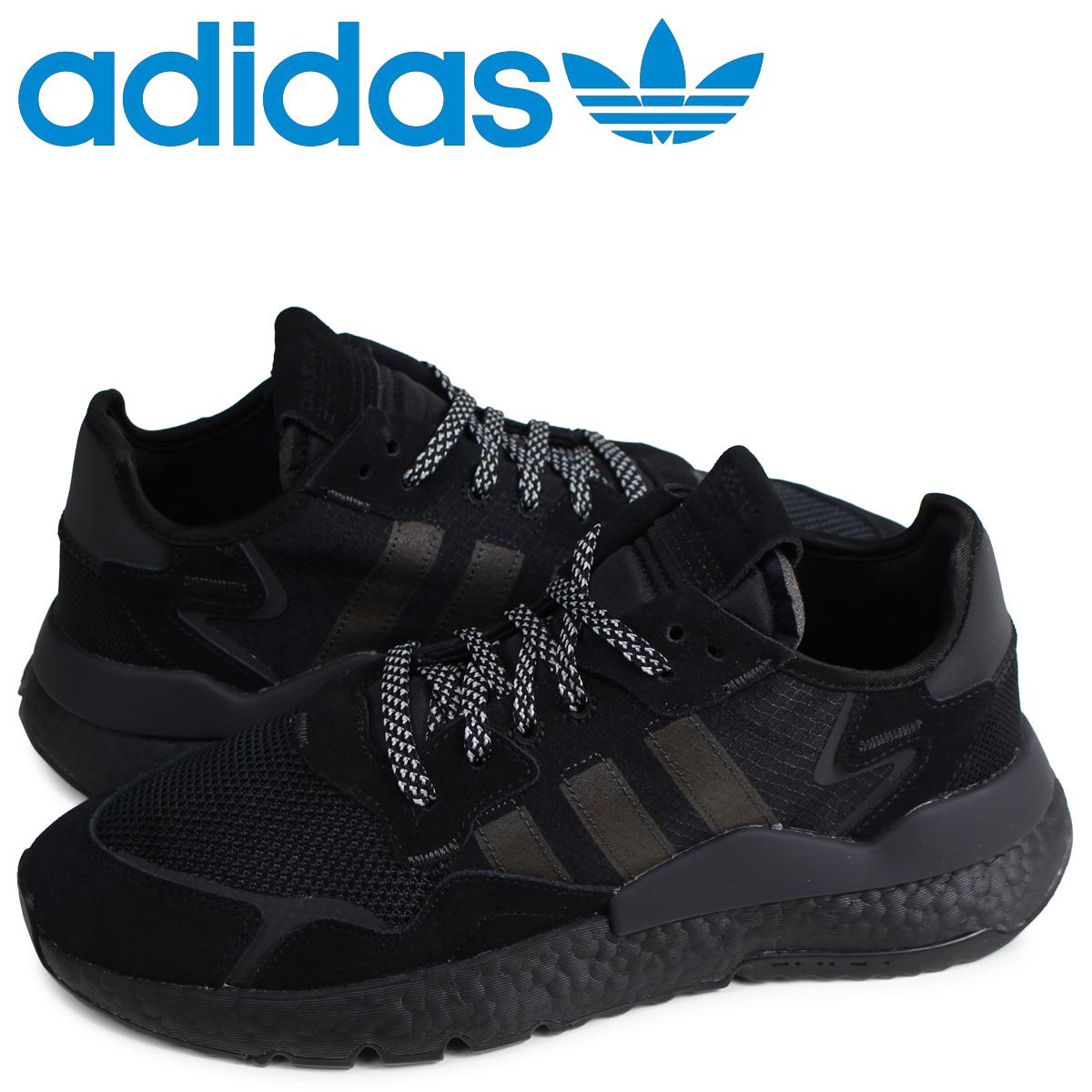 アディダス オリジナルス adidas Originals ナイトジョガー スニーカー メンズ NITE JOGGER ブラック 黒 BD7954