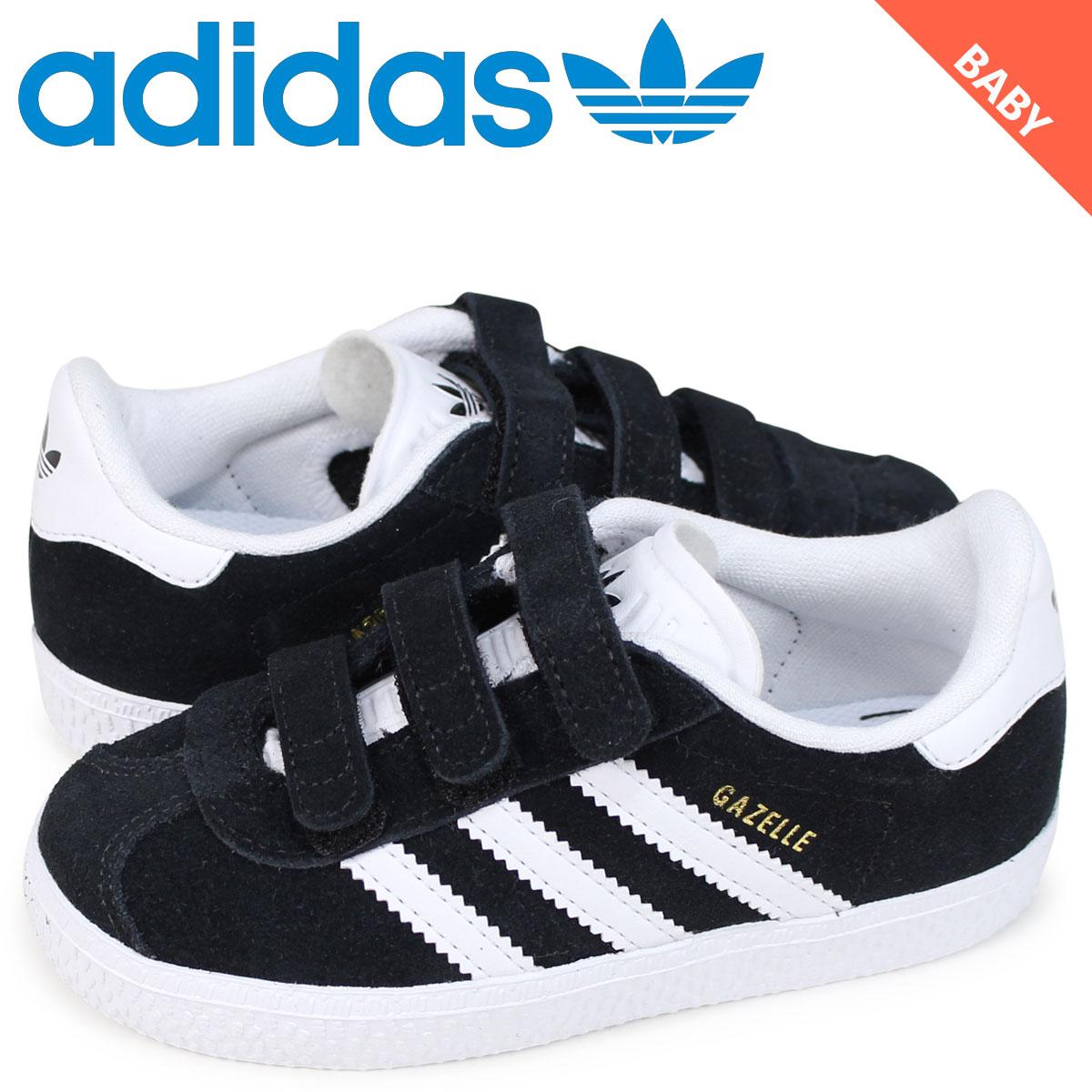 Adidas originals adidas Originals gazelle sneakers baby gut label black GAZELLE CF I black CG3139